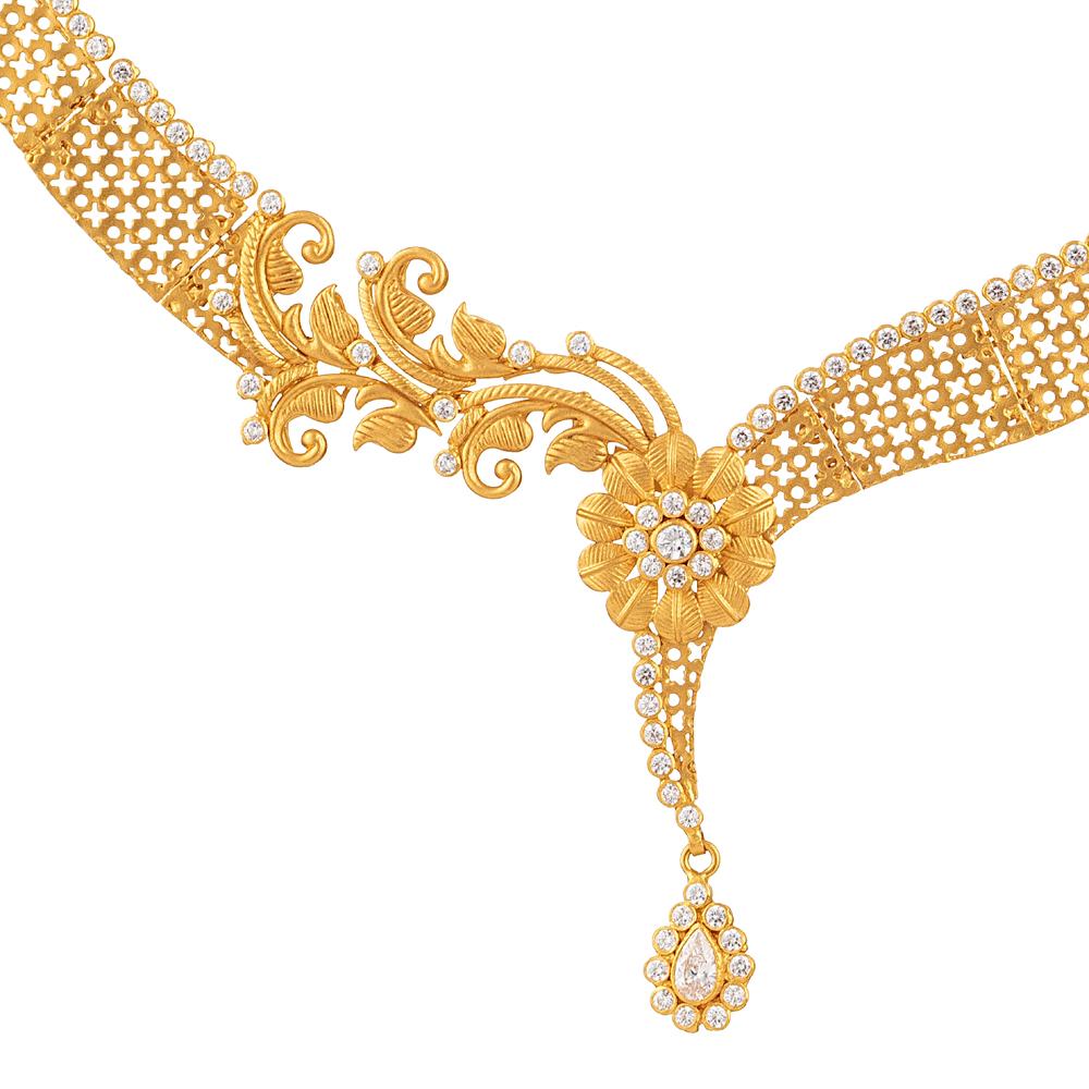 22ct Gold Armari Necklace