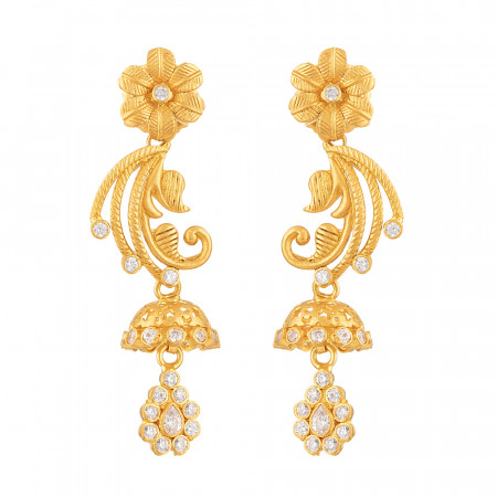 22ct Gold Earring