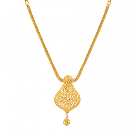 22 carat Gold Indian Necklace
