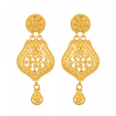 22ct Gold Earring - 33993