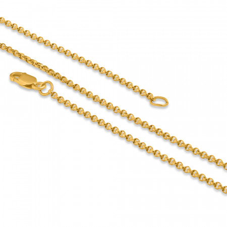22ct Gold Cable Chain 28931-1
