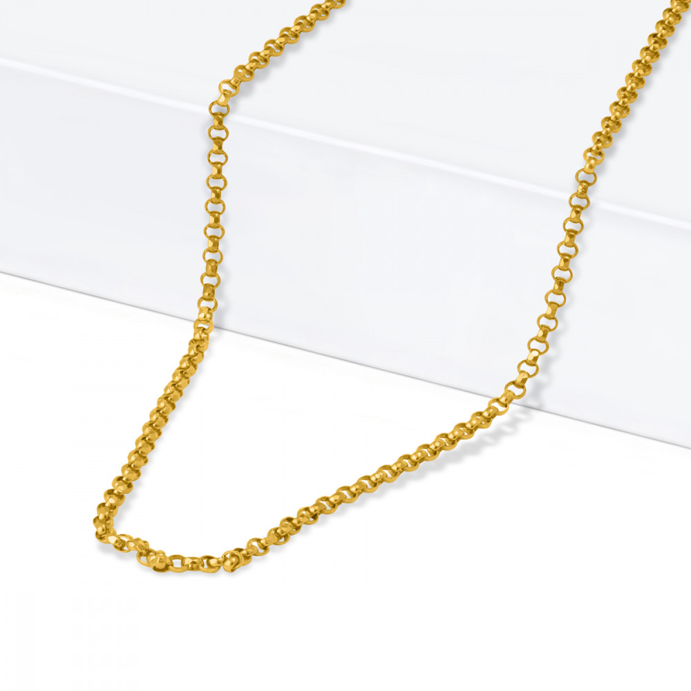 22ct Gold Cable Chain 28931-2