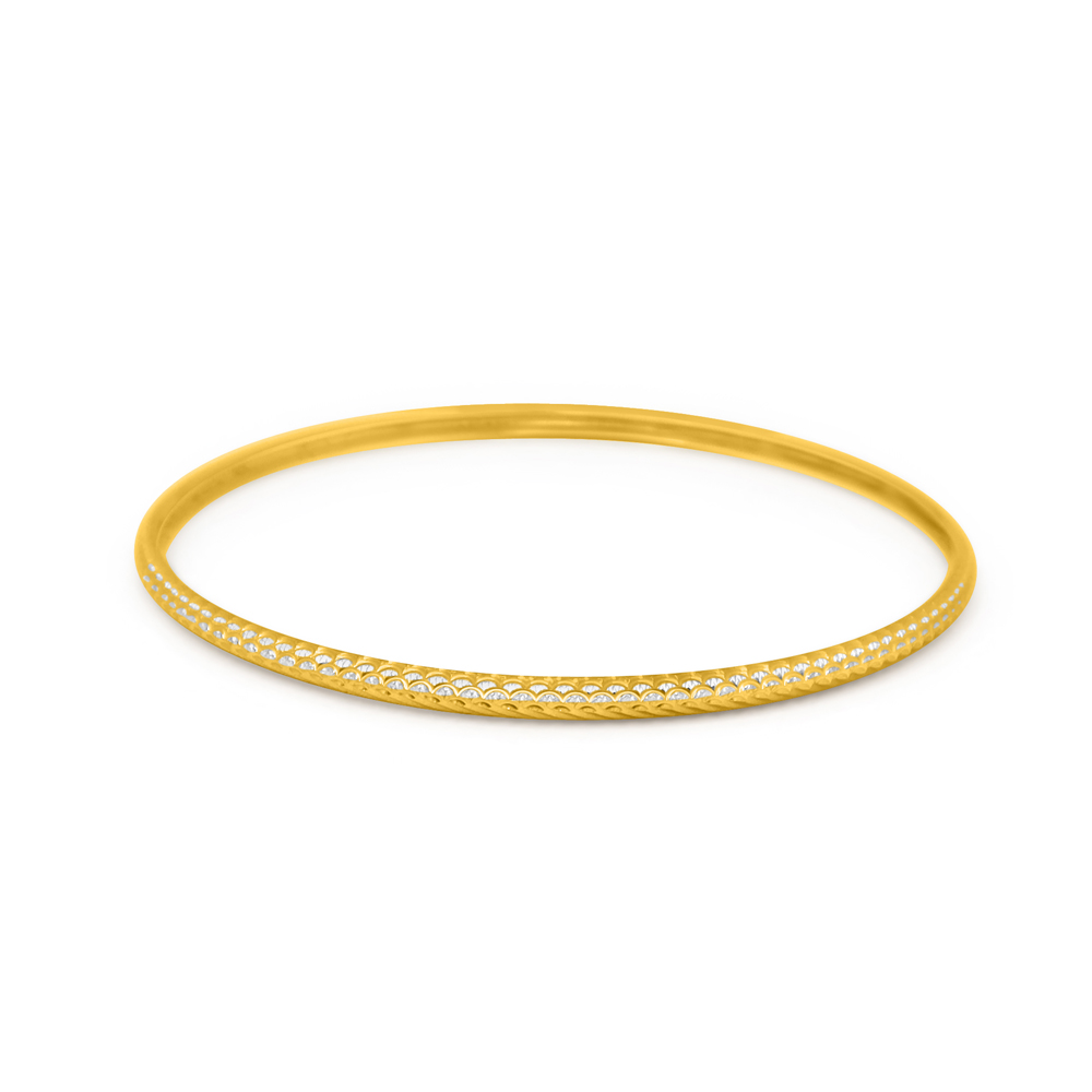 22ct Gold Single Bangle 32638_6