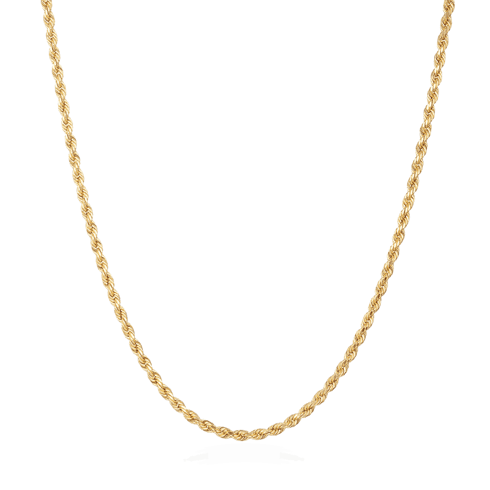 22ct Gold Rope Chain 33026