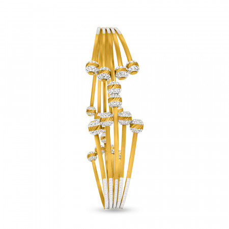 22ct Gold Single Bangle 33917_1