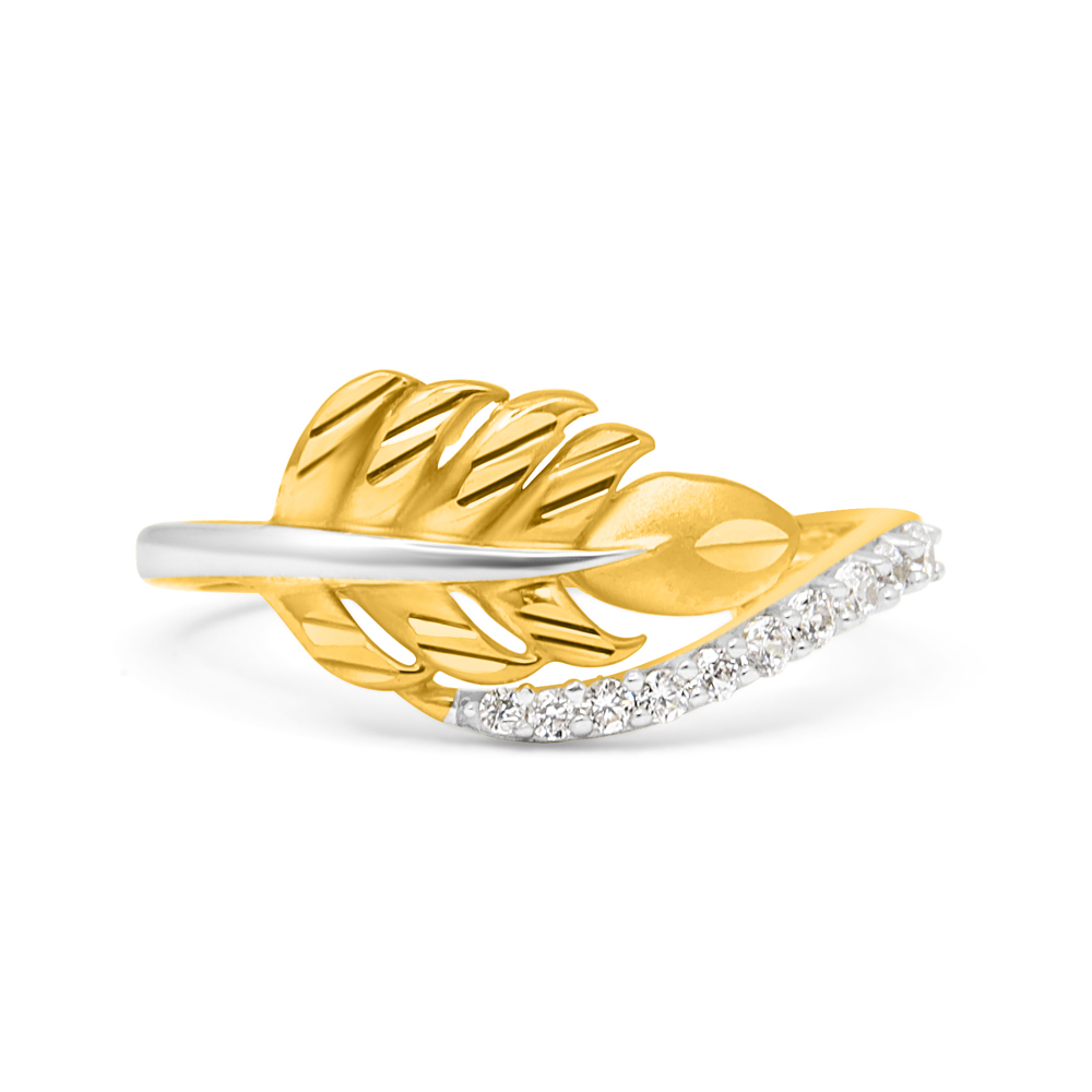 22ct Gold CZ Ring 34070_1