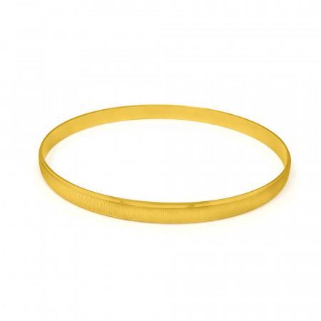 22ct Gold Single Bangle 34204_2