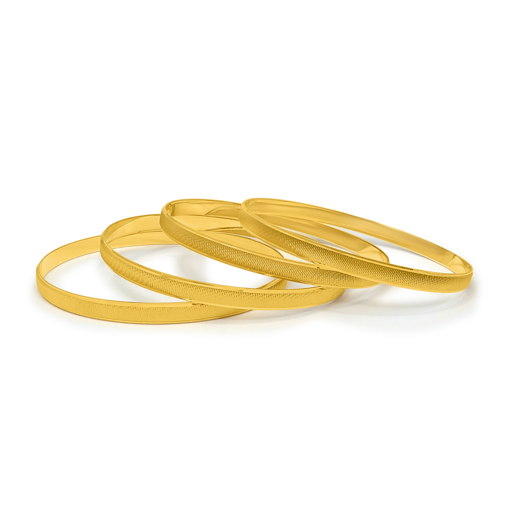 22ct Gold Set of four Bangles 34204_4