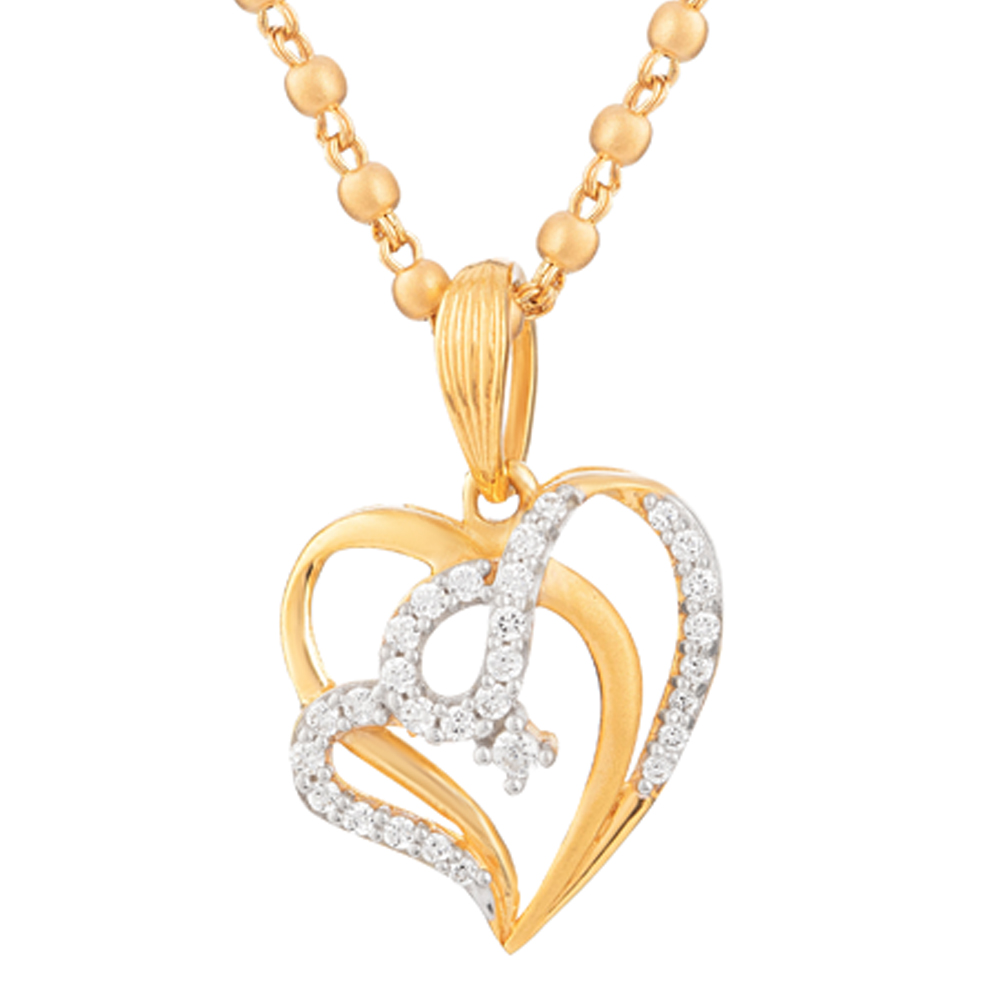 22ct Gold Heart Pendant