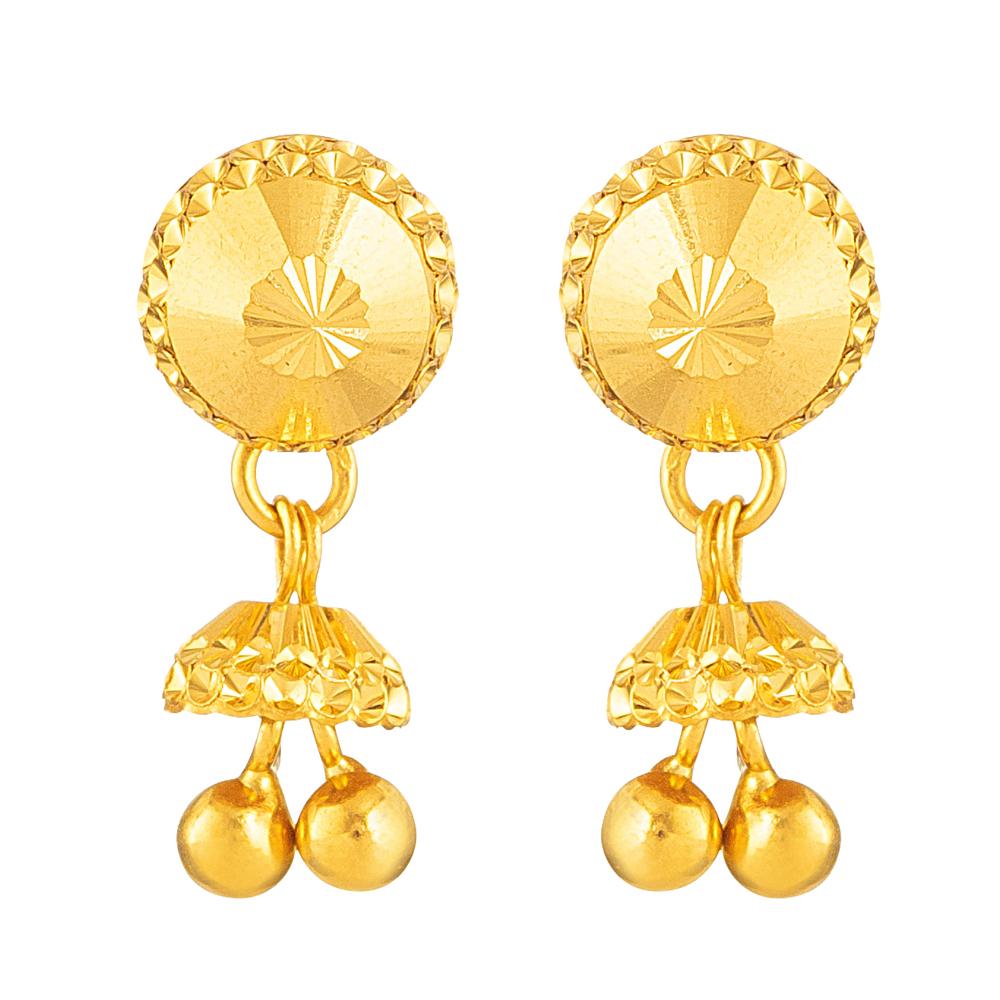 22kt Gold Earring