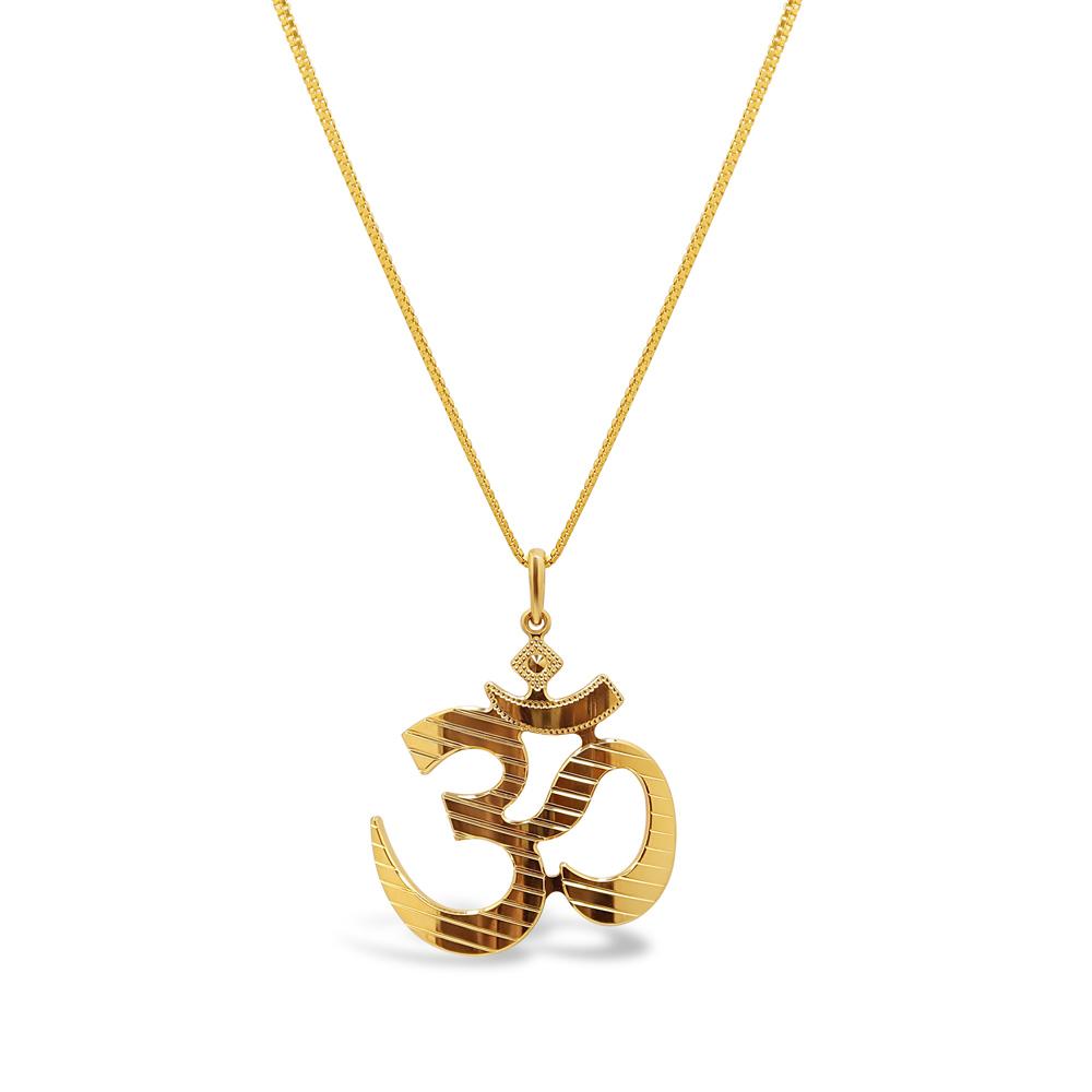 22ct Gold Religious Pendant 33908