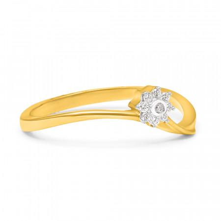 22ct Gold Flower Ring – 34059_1