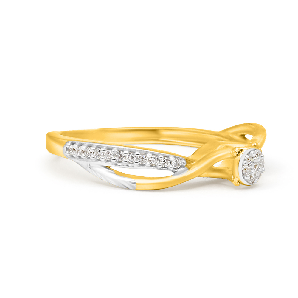 22ct Gold CZ Rings