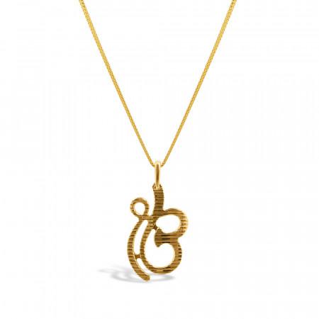Ek Onkar Gold Pendant – 34141