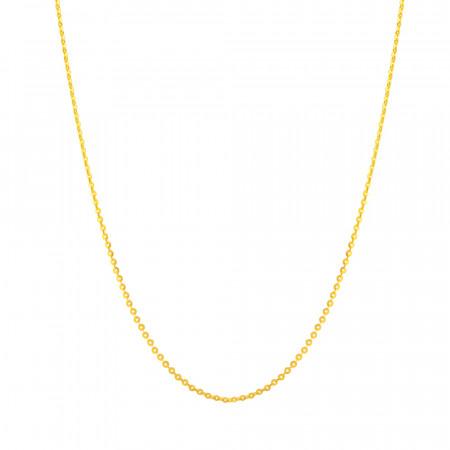 22ct Gold Round Box Chain 32040
