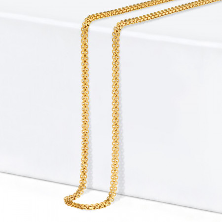 22ct Gold Milan Chain 33414-1