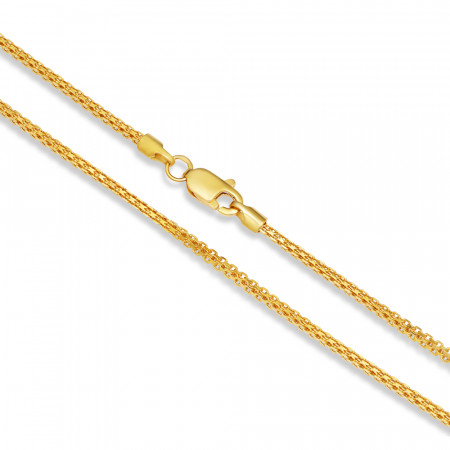 22ct Gold Milan Chain 33414-2