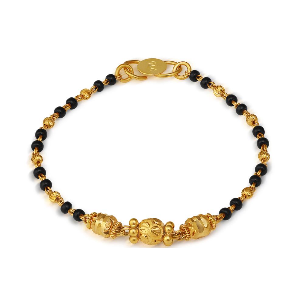 22ct Gold Kids Bracelet 33616-1