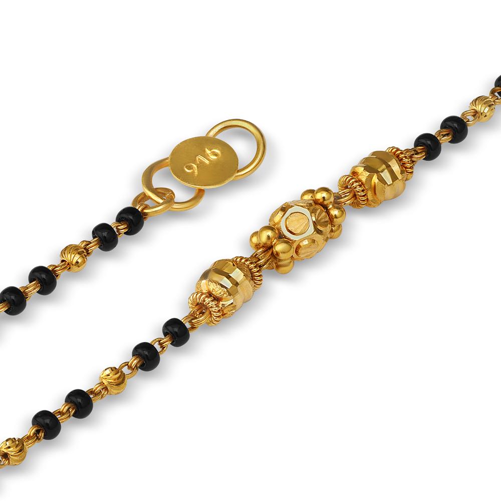 22ct Gold Kids Bracelet 33616-2