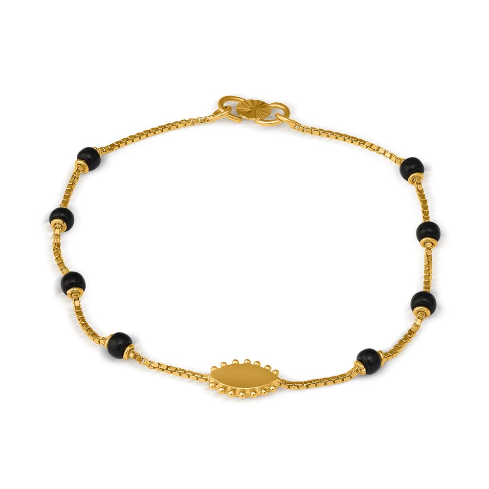 22ct Gold Ladies Bracelet 33702-1