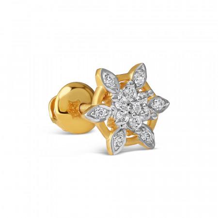 22ct Gold stud earrings 34107