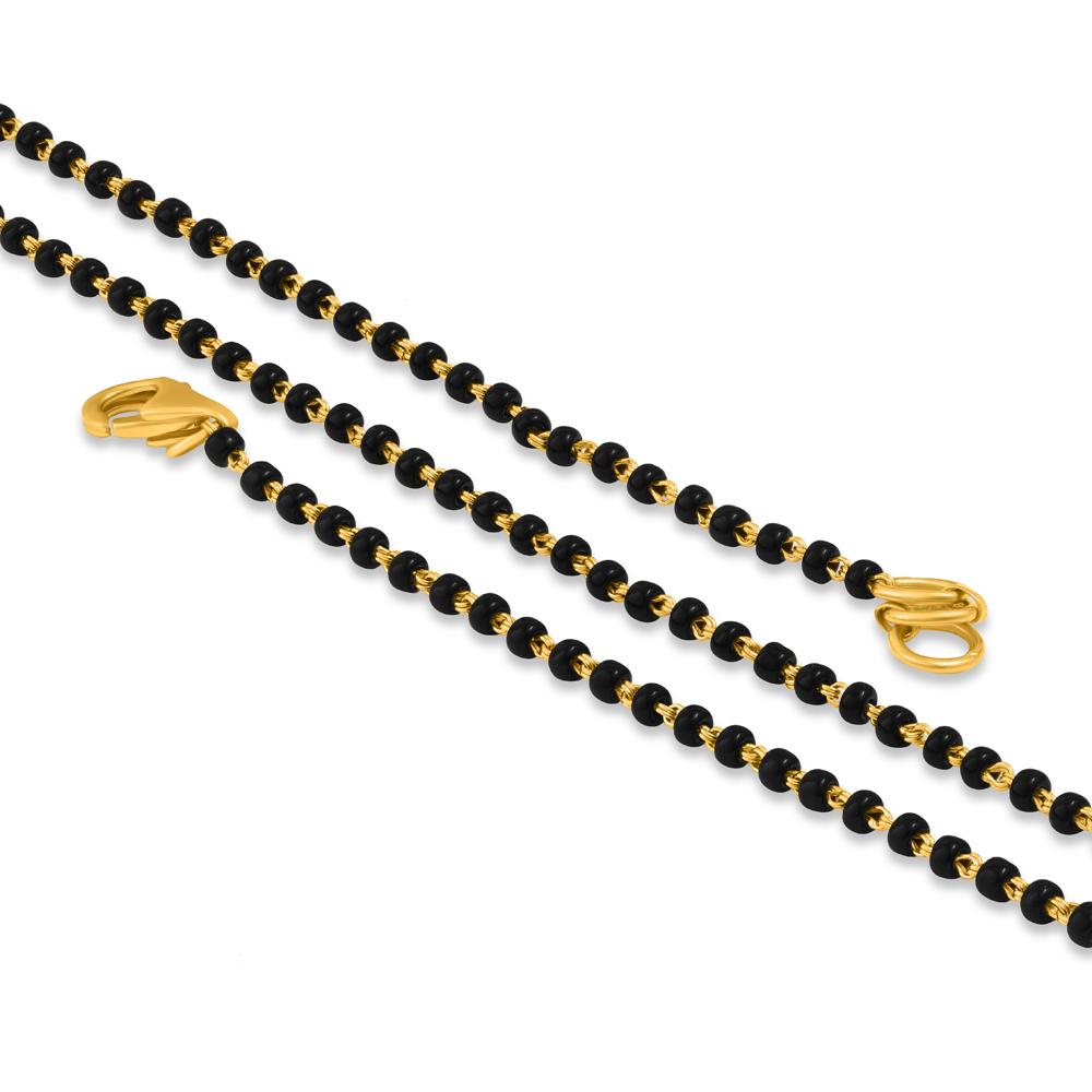 22ct Gold Mangalsutra Chain 34172-1