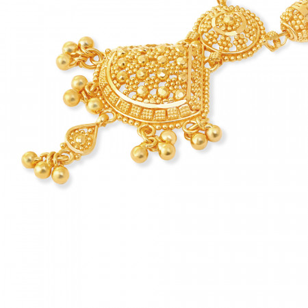 Jali Collection 22ct Gold Necklace 34224-2