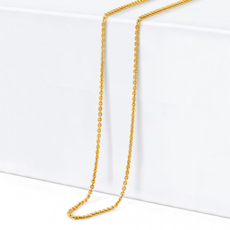 22ct Gold Link Chain 34362-1