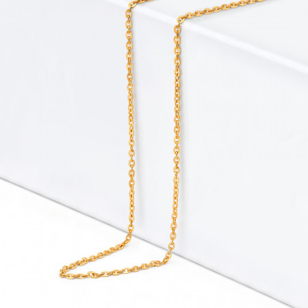 22ct Gold Link Chain 34363-1