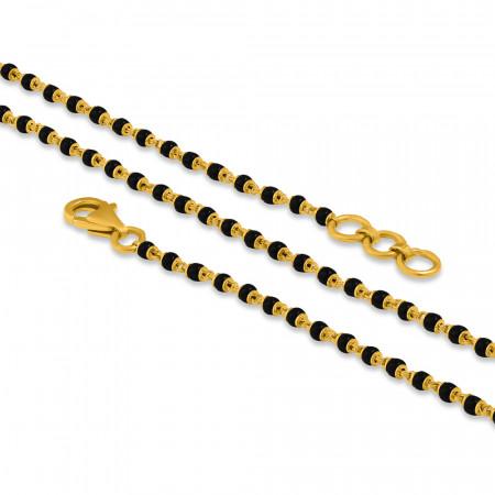 22ct Gold Mangalsutra Chain 34375-1
