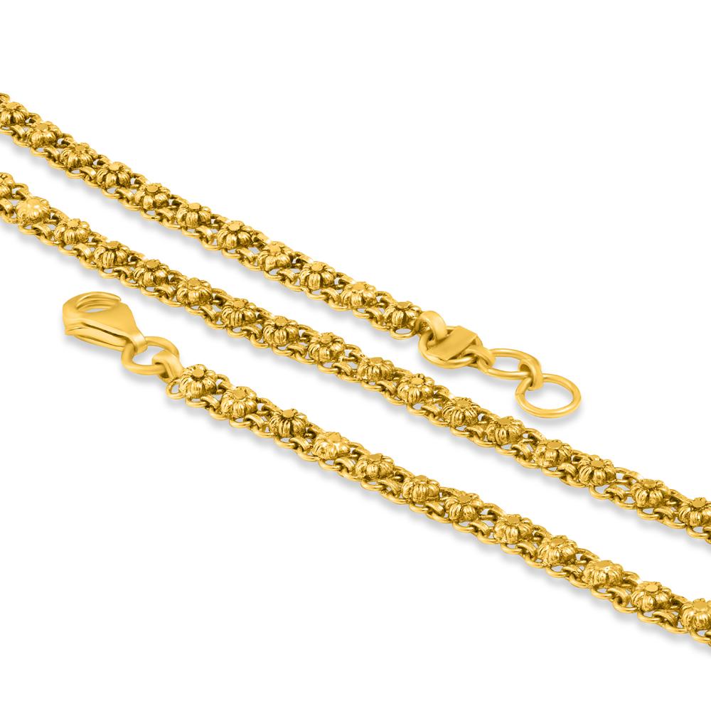 22ct Gold Chain 34387-1