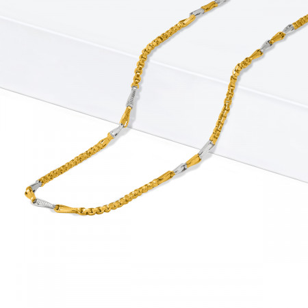 22ct Gold Fancy Chain 34407-1