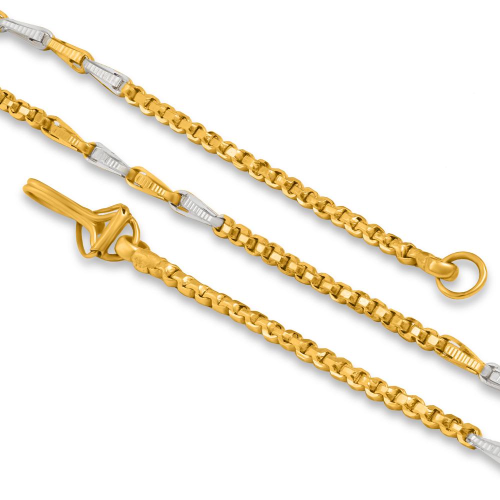 22ct Gold Fancy Chain 34407-2