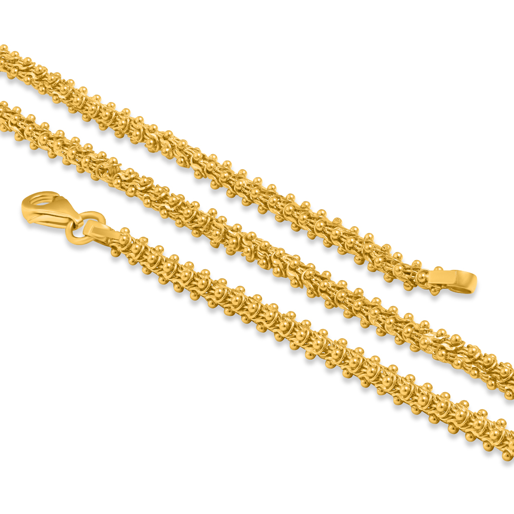 22ct Gold Fancy Chain 34519-1