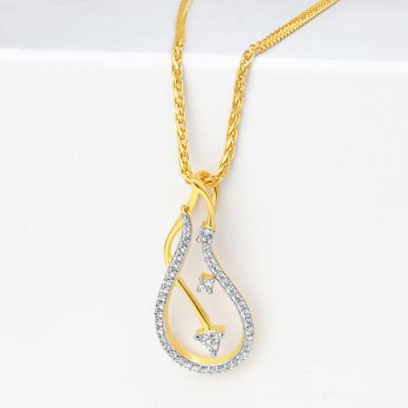 Gold Pendant in 22 Karat 34602