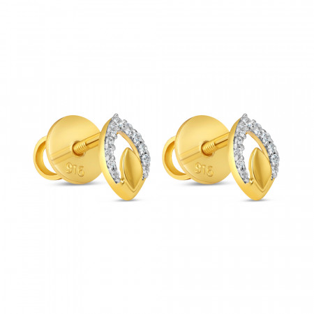 22ct Gold Earring 34609-1
