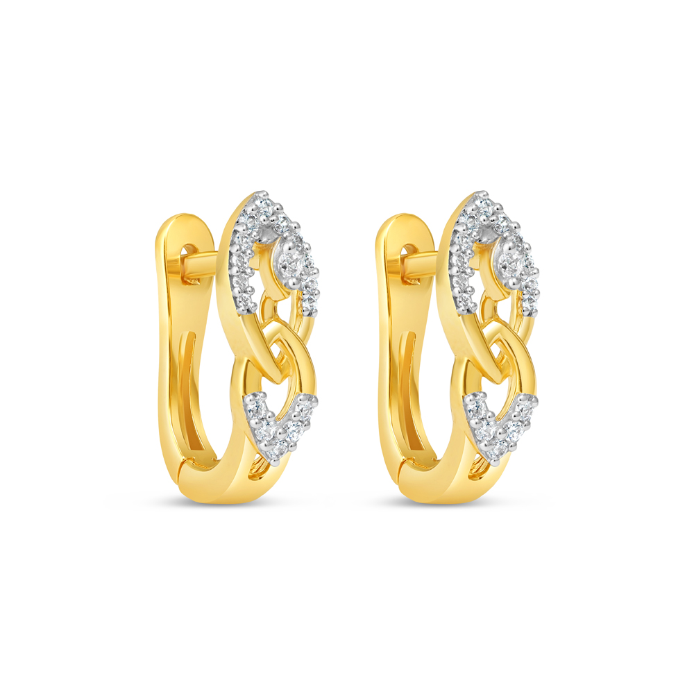 22ct Gold Earring 34631-1