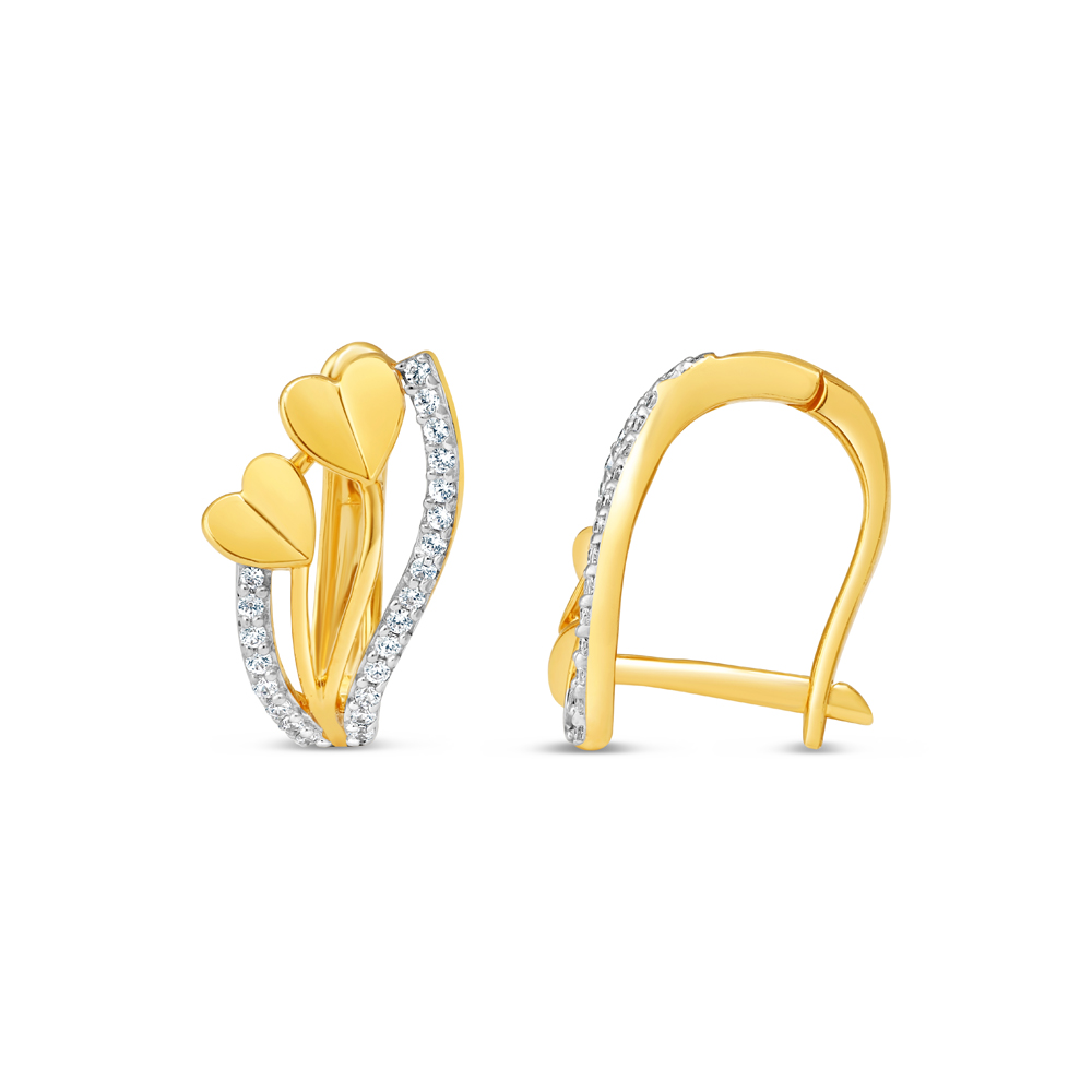 22ct Gold Bali Earring 34632-2