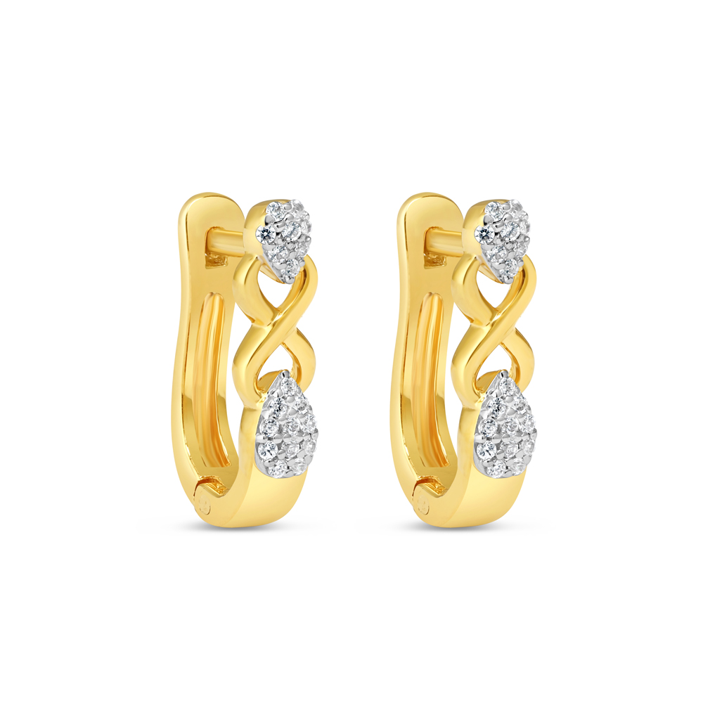 22kt Gold Earring - 34636