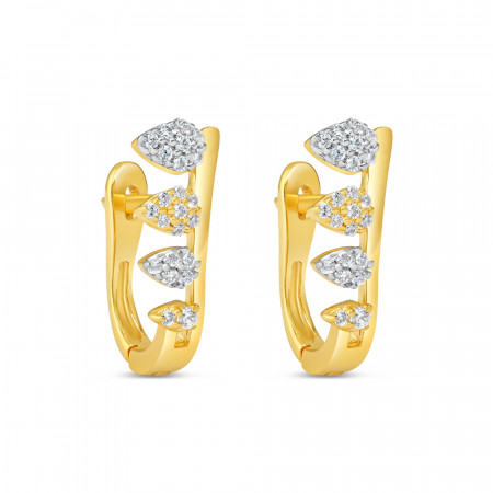 22ct Gold Earring 34639-1