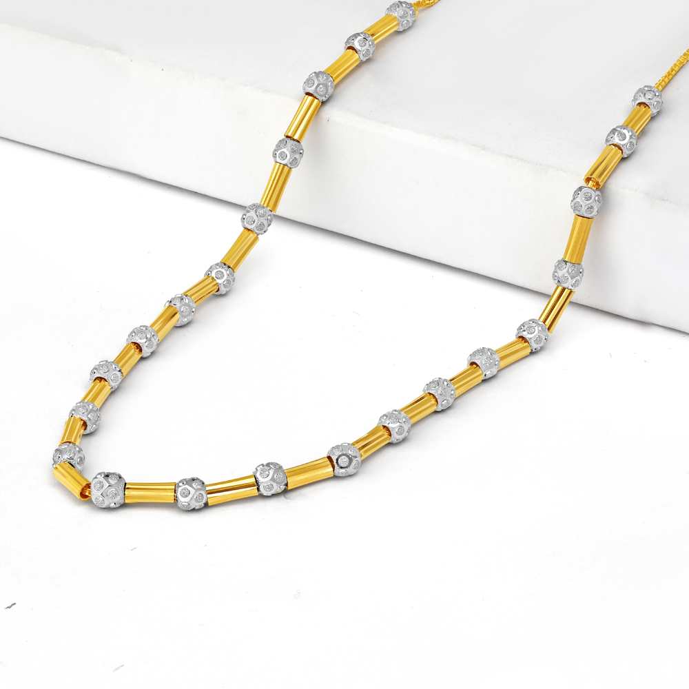 22ct Gold Necklace 34728-1