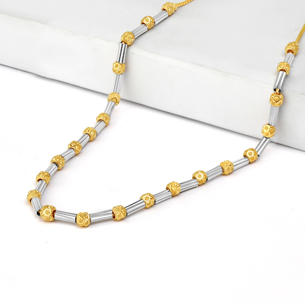 22ct Gold Necklace 34730-1