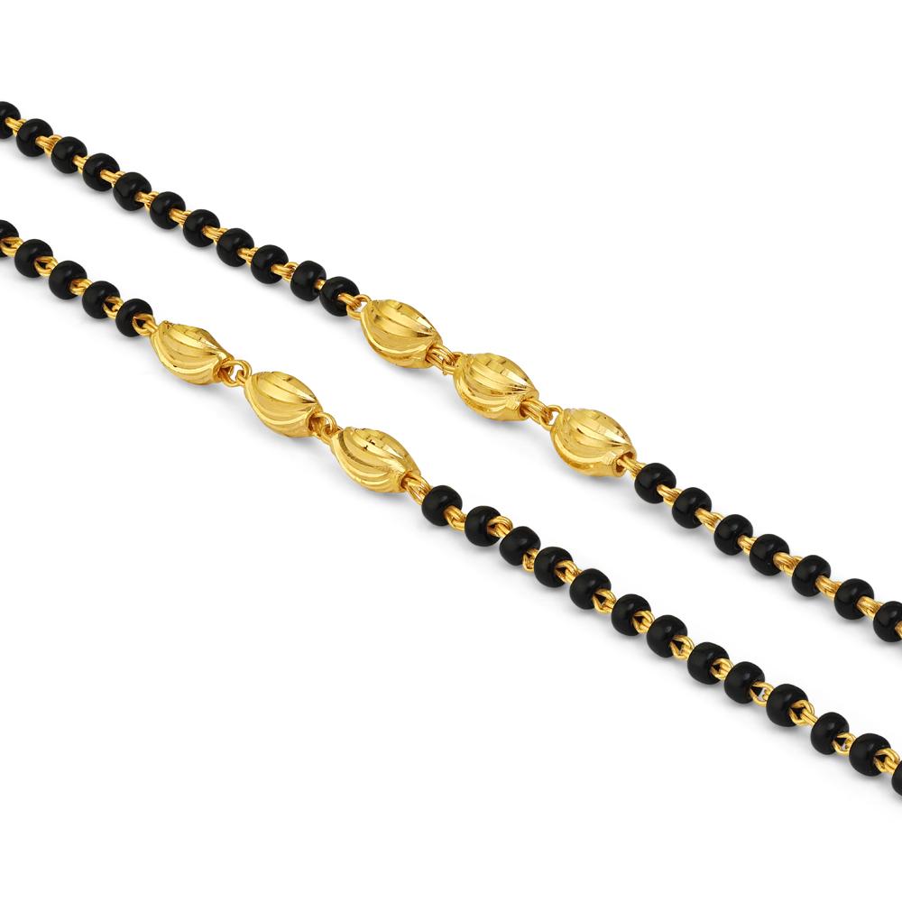 22ct Gold Baby Bracelet 34732-1
