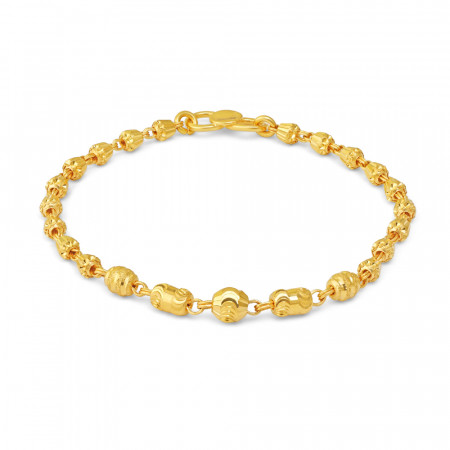 22ct Gold Baby Bracelet 34733-1