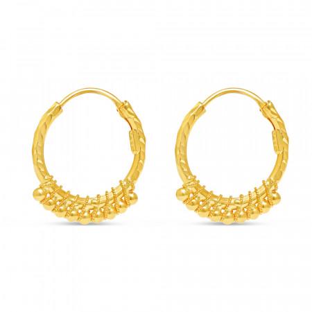 222kt Gold Earring 34739-2