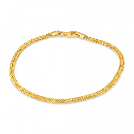 22ct Gold Anklet 34740-1