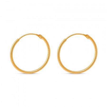 22ct Gold Bali 33670-2