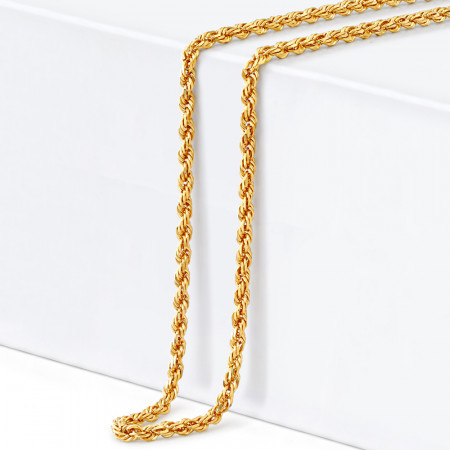 22ct Gold Rope Chain 34242-1
