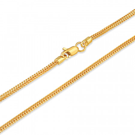 22ct Gold Foxtail Chain 34347-2