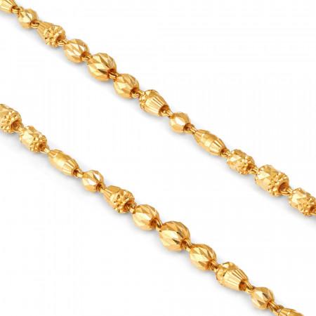 22ct Gold Choker 34409-2